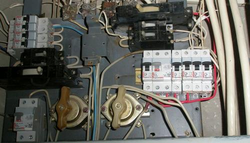 Замена пакетного выключателя на автомат своими руками