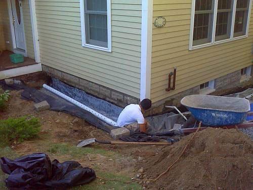 Гидроизоляция фундамента деревянного дома своими руками